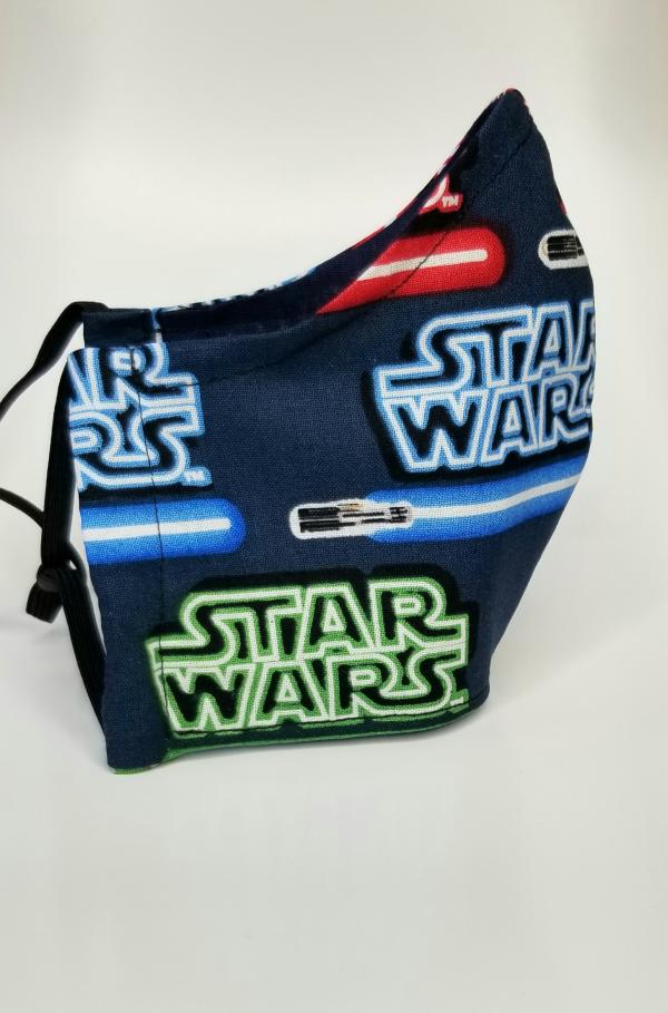 Star Wars lightsaber mask