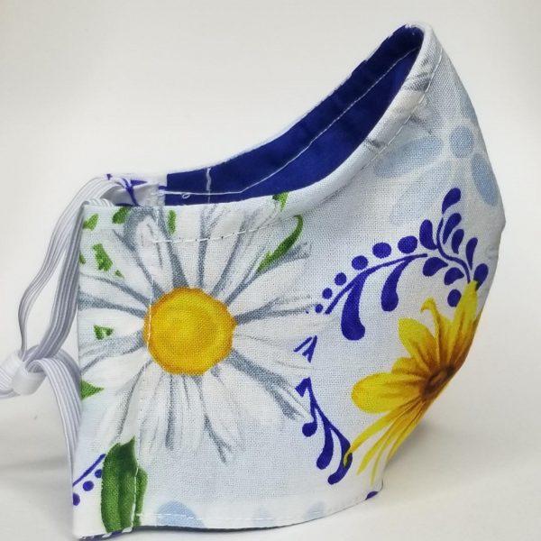 Sunflowers & daisys mask